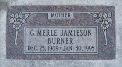 Merle <I>Butterfield</I> Burner