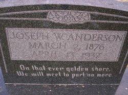 "Joseph Wesley ""Joe"" Anderson"