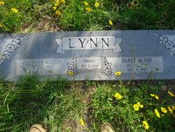 Pansy <I>McVoy</I> Lynn