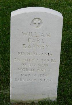 William Earl Dabney