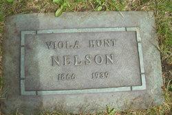 Viola <I>Hunt</I> Nelson
