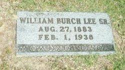 "William Burch ""W."" Lee, Sr"