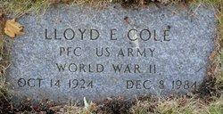 Lloyd Earl Cole