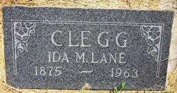 Ida Mary Brown <I>Lane</I> Clegg