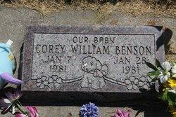Corey William Benson