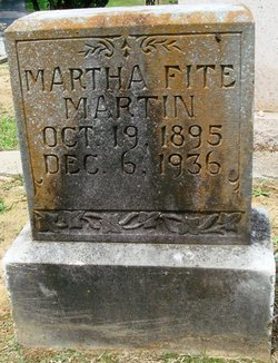 Martha <I>Fite</I> Martin