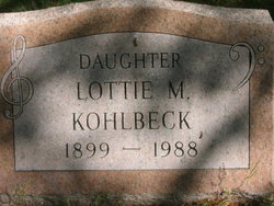 Lotti May <I>Thornton</I> Kohlbeck
