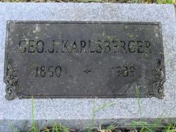 George J Karlsberger