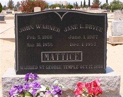 John Warner Mattice