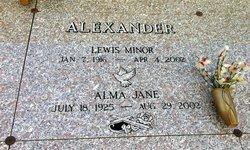 Alma Jane Alexander