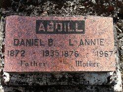 """Lilly Ann """"Annie"""" <I>Creson</I> Abdill"""