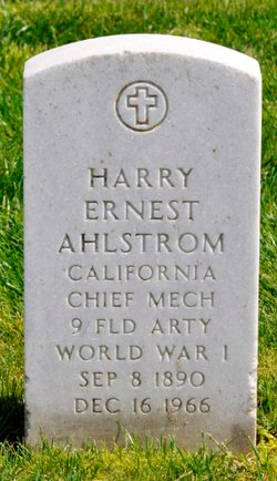 Harry Ernest Ahlstrom
