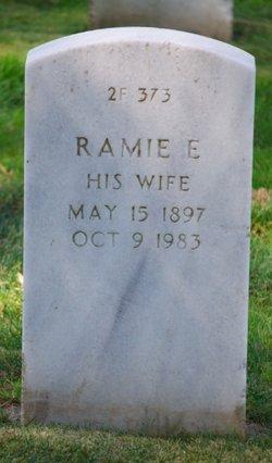 Ramie E. <I>Mansel</I> Ahlstrom