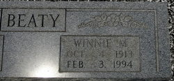 Winnie M. Beaty