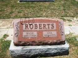 """Frances Evelyn """"Eva"""" <I>Underwood</I> Roberts"""