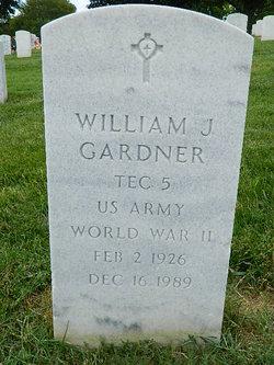 William J Gardner