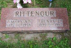Mary Augusta <I>Shaw</I> Rittenour