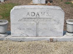 Piercy Evelyn <I>Lewis</I> Adams