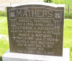 Nancy S. <I>Bice</I> Mathers