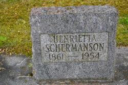 Henrietta <I>Kullberg</I> Schermanson