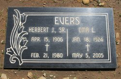 Herbert Joseph Evers, Sr