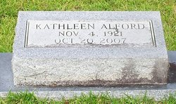 Kathleen <I>Boyd</I> Alford