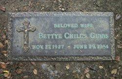 Bettye <I>Childs</I> Gibbs