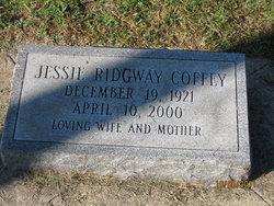 Jessie Ridgway <I>Fears</I> Coffey