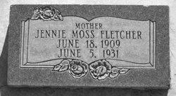 Jennie Moss Fletcher