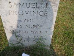 PFC Samuel J Province