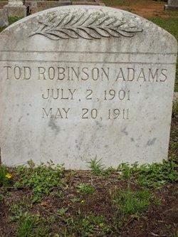 Tod Robinson Adams