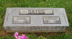 """Gertrude """"Gertie"""" <I>Danner</I> Bates"""