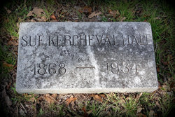 """Sue """"Susie"""" <I>Kercheval</I> Hale"""