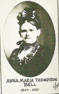 """Anna Maria """"Anna Hamill, Anna Parks"""" <I>Thompson</I> Bell"""