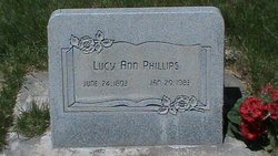 Lucy Ann Phillips