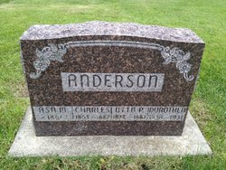 Asa M Anderson