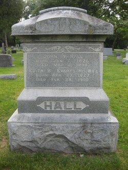 Edith B <I>Evarts</I> Hall