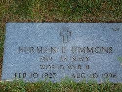 Herman E Simmons