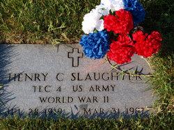 Henry C Slaughter