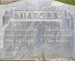 Thomas Lionel Watson