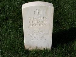 Charles Herman Akridge