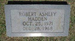 Robert Ashley Hadden