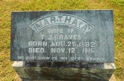 Martha Ann <I>Webb</I> Graves