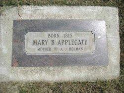 Mary B <I>Watson</I> Applegate