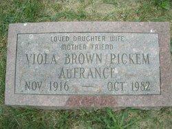 Viola L Brown Pickem AuFrance