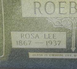 Rosa Lee <I>Ray</I> Roebuck