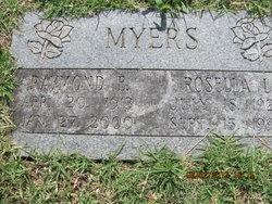 Raymond E Myers