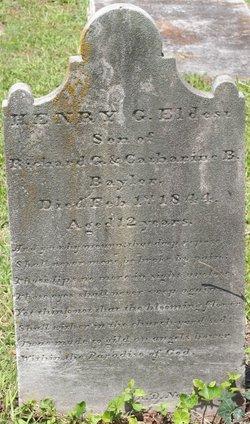 Henry Garnett Baylor