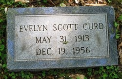 Evelyn <I>Scott</I> Curd