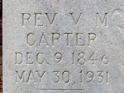 Rev Valentine M Carter